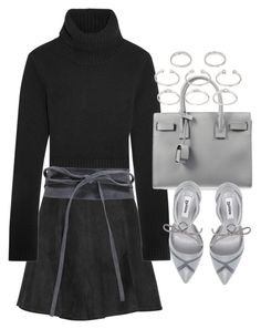 Untitled #19602 by florencia95 on Polyvore featuring polyvore, fashion, style, Michael Kors, rag & bone, Dune, Yves Saint Laurent, Forever 21, Boohoo and clothing
