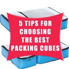 When you visit amazon,you will see lots of packing cubes with different styles and materials. Today I will tell you how to choose the best one from them. #travelgear #packing #packingcubes
