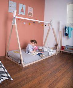 Toddler bed Tipi