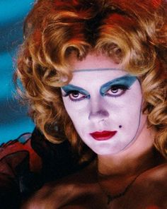 Janet Weiss made up for the floor show. RHPS