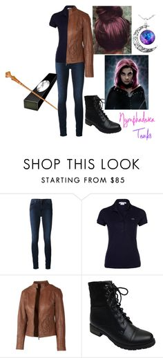"""""""Nymphadora Tonks"""" by luna1301 ❤ liked on Polyvore featuring Acne Studios, Lacoste, Fat Face, Bamboo, harrypotter and tonks"""