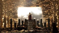 Maria Stuarda from Oper Graz 2012. Production, sets and costumes by Stefano Poda.