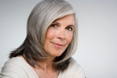 How to make your graying hair look gorgeous