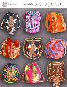 20% OFF COLUMBUS DAY SALE! NOW UNTIL OCTOBER 14! Style with a cause! Formerly part of the Wayuu Taya Foundation, Susu Style sells one of a kind Susu bags handwoven by the women of the Wayuu tribe in the Guajiran Peninsula. All proceeds go back to the Wayuu community. Buy yours today at www.susustyle.com!