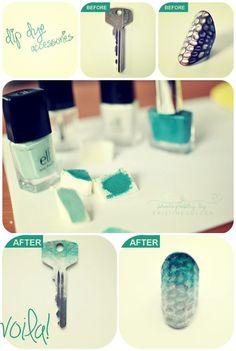 #DIY: Dale un toque personal a tus accesorios!