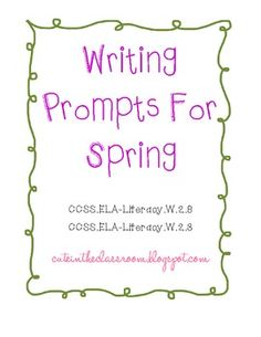 Second Grade Spring Worksheets and Printables