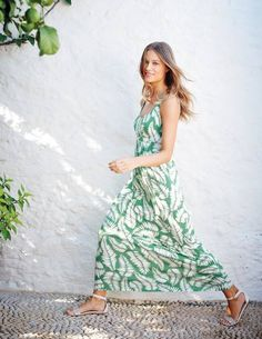 Jersey Maxi Dress WH752 Day Dresses at Boden
