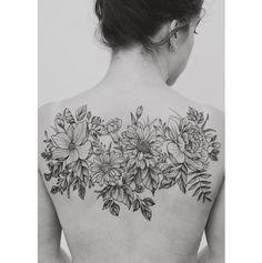Gorgeous And Graceful Floral Tattoos Elegantly Inked For Nature Lovers
