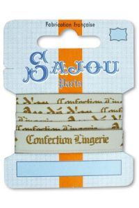 Ruban Sajou Collection Comptoir motif 16 carte un mètre