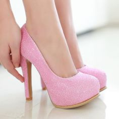 2015 Sweet Sexy Thick High-Heeled Shoes