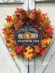 Beautiful fall wreath, scarecrow, pumpkin, burlap wreath, thanksgiving wreaths, lushcreationsdesigns check us out on Facebook