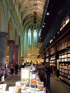 A Book Store..I could spend weeks in this book store.