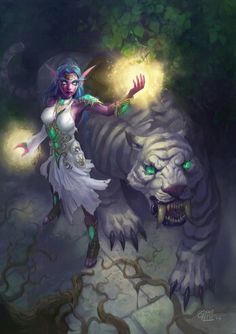 Night elf world of warcraft