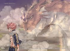 Fairy Tail, Natsu and Igneel