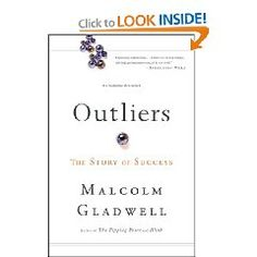 This book is simply amazing. The first (but not last) book I've ready by Malcom Gladwell. The chapter about the airline crashes just blew my mind.