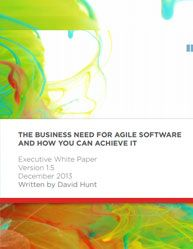 The Business Need for Agile Software and How You Can Achieve it  The Business Need for Agile Software and How You Can Achieve i