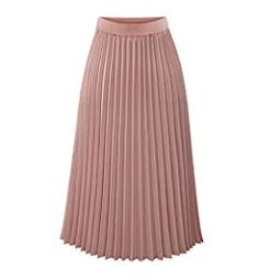 Women Spring Summer Chiffon Casual Skirt Department Pleated Slim Mid-Calf Skirt Newest 2018 High Quality Long Chiffon Skirt, Pleated Midi Skirt, High Waisted Skirt, Waist Skirt, Maxi Skirts, Summer Skirts, Skater Skirt, Summer Clothes, Long Skirts For Women