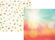 SS Summer Vibes 12x12 Double-sided Cardstock Shine On 6305