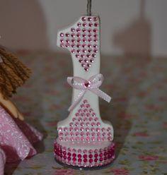 Boneca de Pano com Vela personalizada
