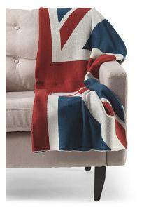 image of Union Jack Throw