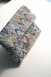 Bargello clutch :: prototype