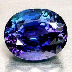 Stone of the Month: Tanzanite!