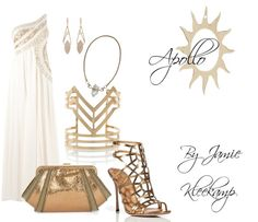A formal look inspired by the greek god: Apollo. Fans of Greek Mythology or the Percy Jackson series would like this look