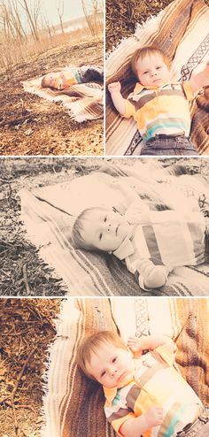 3 Month Photo Session Baby Boy - Deanne Mroz Photography