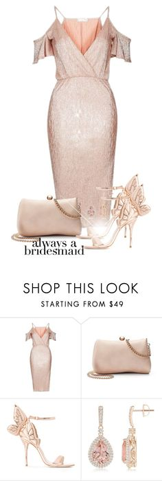 """Always a Bridesmaid"" by amchavesj-1 ❤ liked on Polyvore featuring Rare London, LC Lauren Conrad, Sophia Webster and alwaysabridesmaid"
