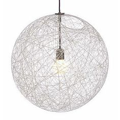 How to make a lamp like Random Light by Bertjan Pot for Moooi - DIY Tutorial Diy Pendant Light, Pendant Lighting, Moooi Lighting, Pendant Chandelier, Modern Lighting, Lighting Design, Diy Luz, Chandelier Design, Diy Chandelier