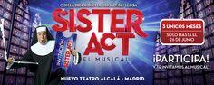 Te invitamos a Sister Act, el Musical, en Madrid