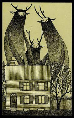 so edward gorey // Edward St. John Gorey (22 de febrero de 1925 - 15 de abril de 2000) fue un escritor y artista estadounidense reconocido por sus libros ilustrados de un tono macabro pero con cierto sentido del humor.
