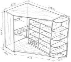 closet layout 356065914291671451 - Corner Closet Layout 66 Ideas Source by Corner Wardrobe, Corner Closet, Wardrobe Storage, Bedroom Wardrobe, Wardrobe Closet, Bedroom Closet Doors, Bedroom Closet Design, Closet Designs, Bedroom Storage