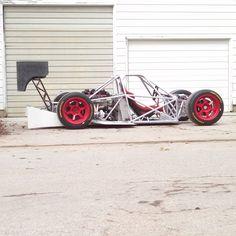 custom race car built by LoveFab Inc - Promoted by The Fab Forums