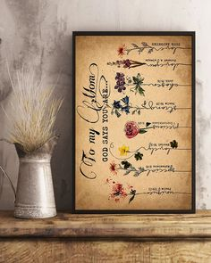 Perfect Gifts For Mom Poster   Family Love Gifts Great Gifts For Mom, Perfect Gift For Mom, Love Gifts, To My Mother, Leather Notebook, Gsm Paper, Family Love, Prints, Poster
