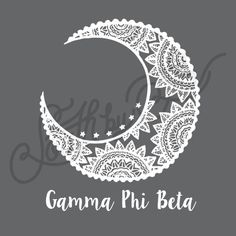 Sorority Recruitment Gamma Phi Beta Tribal Moon South By Sea