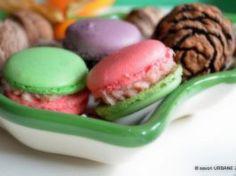 Macarons cu crema de zmeura Pastry Cake, Dessert Recipes, Desserts, Macaroons, Cheesecakes, Some Fun, Salmon Burgers, Truffles, Almond