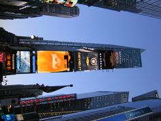 Dusk at Times Square
