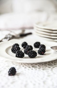 blackberries food photography styling