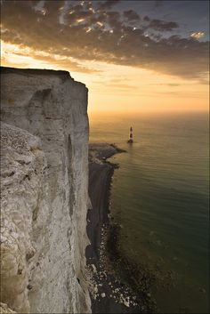 Beachy Head, England by Sven Broeckx Sussex, England