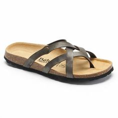 d95f12d74ccad Betula Licensed by Birkenstock Vinja Strappy Soft Footbed Thong Sandals - Women  Types Of Shoes