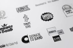 Donate to Band Brand Identity and Website Design on the Behance Network
