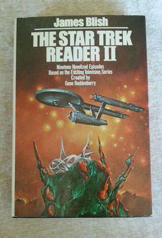 The Star Trek Reader II James Blish HCDJ Vintage 1977 BCE 19 Episodes Novelized in Books, Fiction & Literature | eBay