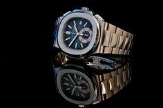 Weekly Watch Photo – Nautilus Chrono – Patek Philippe ref. 5980/1A - Monochrome Watches