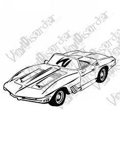 63 best mako shark corvette images corvette corvettes dream cars 1965 Corvette Engine Specs 1961 chevrolet mako shark corvette american classics classic cars vinyl decal car window stickers 03 car