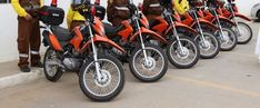 Criminosos furtam oito motos do Departamento de Trânsito de Jacareí, SP