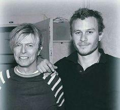 David Bowie & Heath Ledger