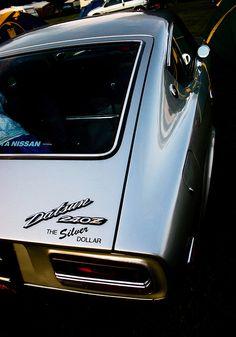 """""""Silver Dollar"""" (Datsun 240Z)"""