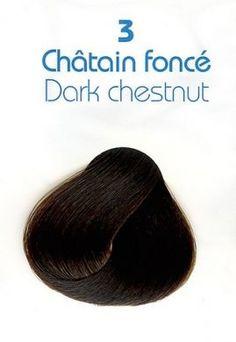 Clinerience Doğal Saç Boyası 3 ( Koyu Kestane Rengi )