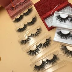 47770498445 wholesale mink eyelash strips silk eyelashes factory china 3d mink eyelash  factory - miis lashes